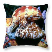 Snails 1 Throw Pillow