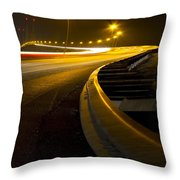 Snake Lights Throw Pillow