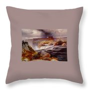 Snake River Idaho 1876 Throw Pillow