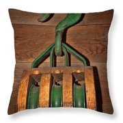 Snatch Block Throw Pillow