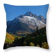 Sneffels Panorama Throw Pillow