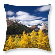 Sneffels Winds Throw Pillow by Darren  White