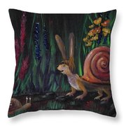 Snellius Fluffius Throw Pillow