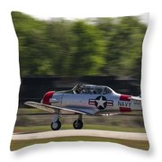 SNJ Throw Pillow