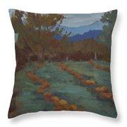 Snohomish Pumpkin Patch Throw Pillow