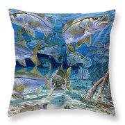Snook Cruise In006 Throw Pillow
