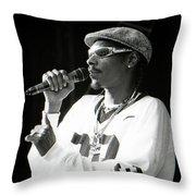 Snoop-gp18 Throw Pillow