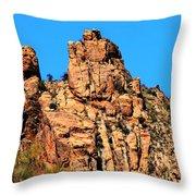 Snoopy Rock - Sabino Canyon Tucson Arizona  Throw Pillow