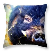 Snort Throw Pillow