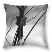 Snow Accent Throw Pillow