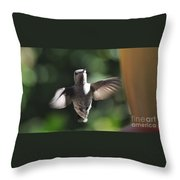 Snow Angel Young Hummer Throw Pillow
