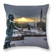 Fayetteville Nc 7 Throw Pillow