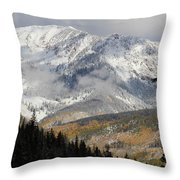 Snow Capped Beauty Throw Pillow