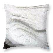 Snow Drift 02 Throw Pillow