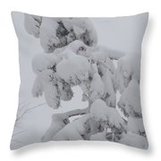Snow Goon Throw Pillow