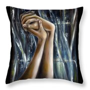 Snow Light Throw Pillow