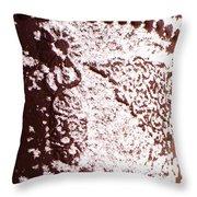 Snow Pot Throw Pillow