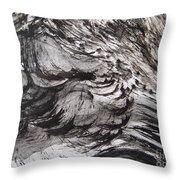 Snow Slope Throw Pillow