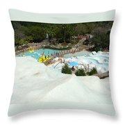 Snow Time Throw Pillow