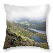 Snowdonia Wales Throw Pillow