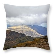 Snowdonian Splendor Throw Pillow