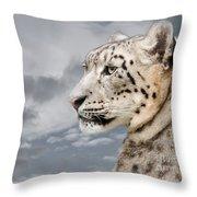 Snowie Throw Pillow