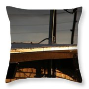 Snowy Morning Throw Pillow
