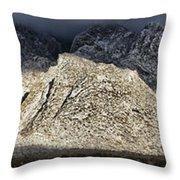 Snowy Sandia Mountain Range Huge Panorama 1150 Throw Pillow