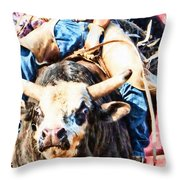 Snugged Throw Pillow