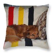Snuggle Time Throw Pillow