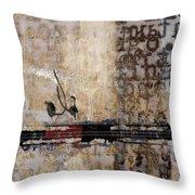 So Linear Throw Pillow by Carol Leigh