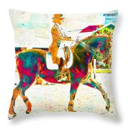 So Many Colors Throw Pillow