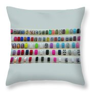 So Many Iphone Cases Throw Pillow