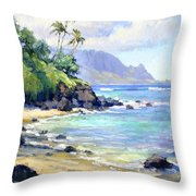 So Many Magic Colors Throw Pillow