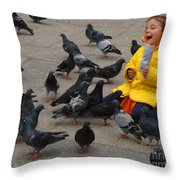 So Much Fun Throw Pillow