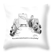 So, We Look To The Fourth Quarter As A Time Throw Pillow