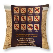 So What The Hell Can You Do? Throw Pillow