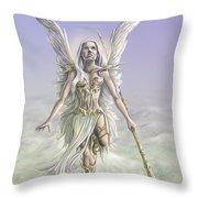 Soaring Angel Throw Pillow