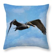 Soaring By Throw Pillow