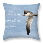 Soaring High 2 Throw Pillow