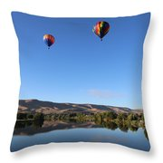 Soaring In Prosser Throw Pillow