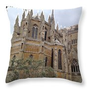 Soaring Spires Throw Pillow