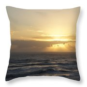 Soaring Sunrise Throw Pillow