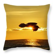 Soaring With Confidence Throw Pillow