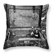 Sober Travels  Throw Pillow