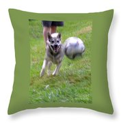 Soccer Time Throw Pillow