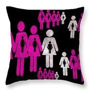Social Responsibility 1 Part 2 Throw Pillow