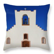 Socorro Mission La Purisima Texas Throw Pillow