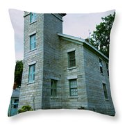 Sodus Point Lighthouse Throw Pillow