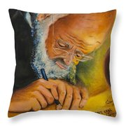 Sofer Stam Throw Pillow